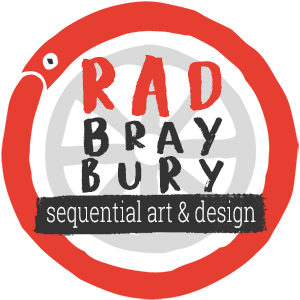 RAD BRAYBURY SEQUENTIAL ART & DESIGN